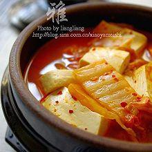 泡菜豆腐锅