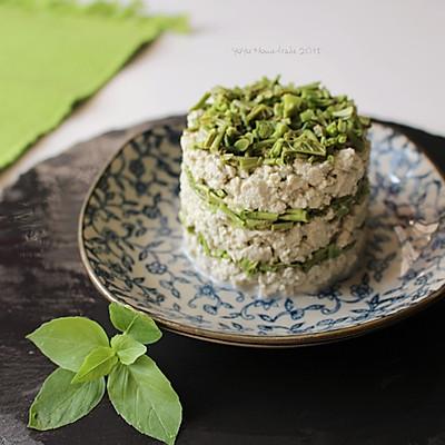 春日小食--香椿拌豆腐