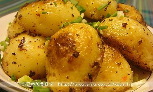 香煎黑椒小土豆的做法