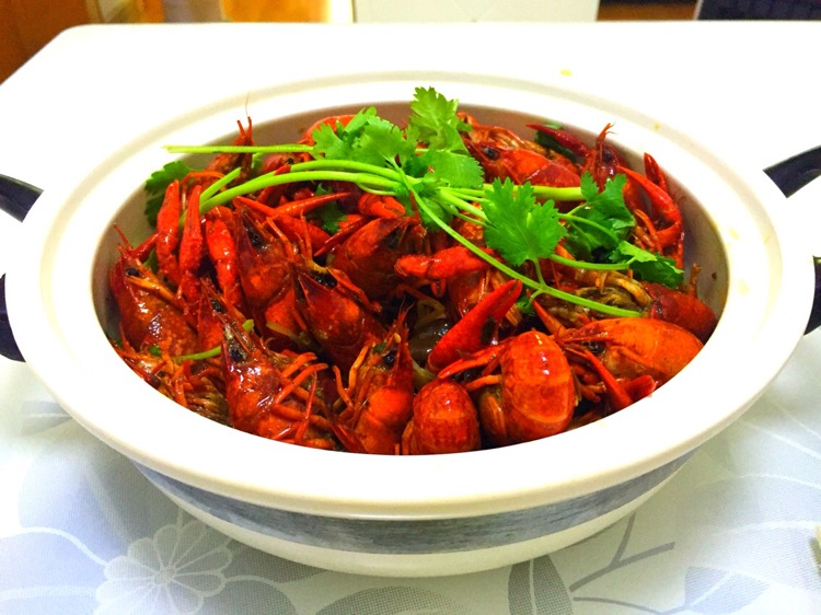 红烧龙虾的做法图解8