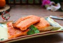干煎三文鱼#回到家香味(粤)#的做法