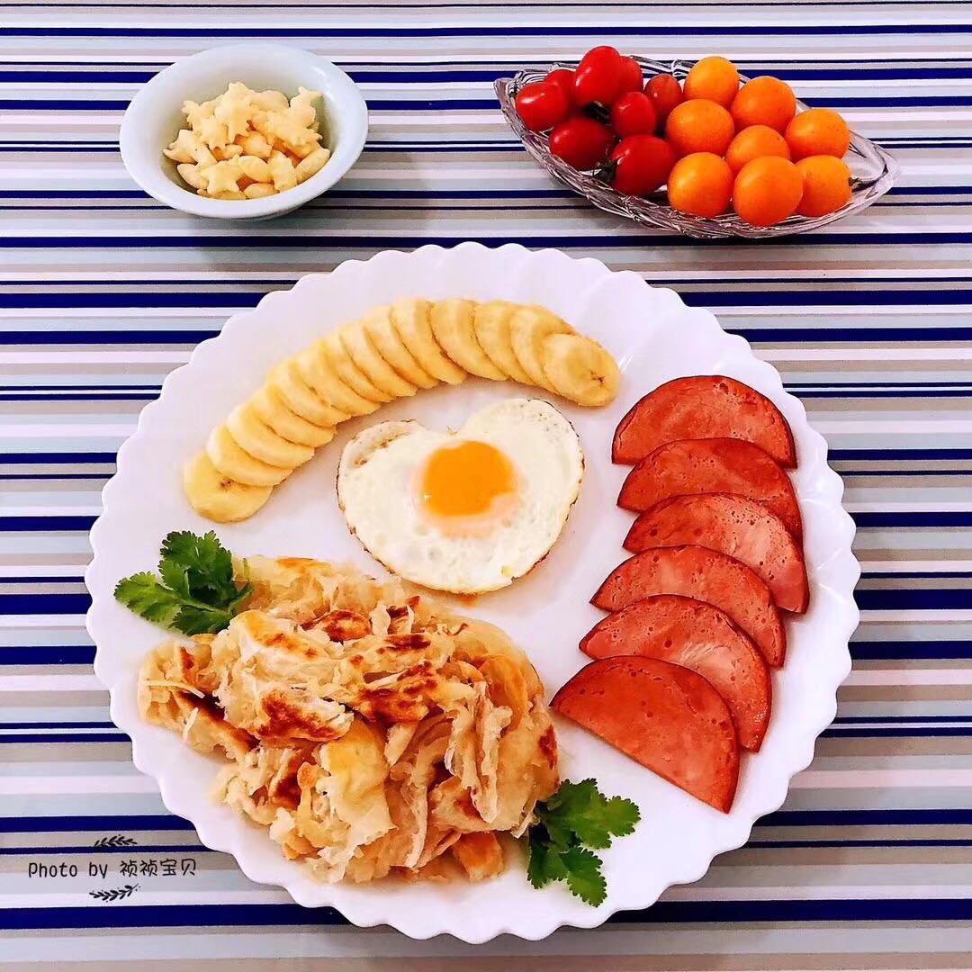 手抓饼开心早餐#初夏搜食#