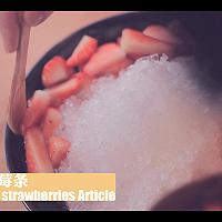 草莓冰雪奇缘「厨娘物语」的做法图解10