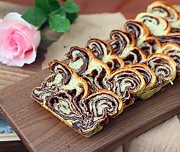 巧克力核桃面包的做法