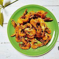 补钙佳品:干炸小河虾的做法图解5