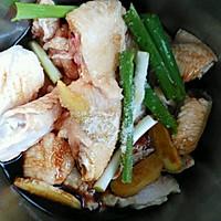 南瓜碗蒸鸡的做法图解3