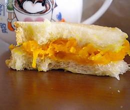懒人早餐 南瓜三明治的做法