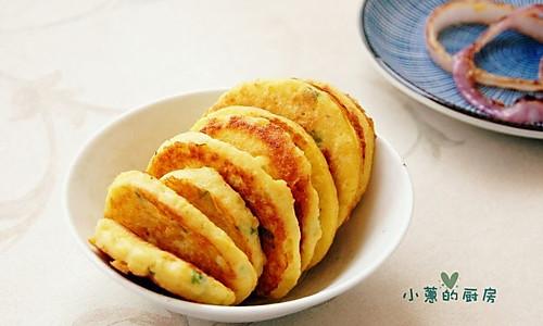 豆渣蛋饼的做法