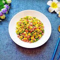 三色小炒#花10分钟,做一道菜!#的做法图解8