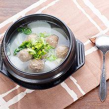 鑫潮牛牛肉丸白萝卜汤