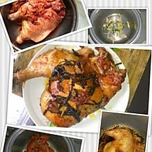 电饭锅烤鸡(懒人菜)