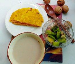 核桃豆浆#美的早安豆浆机#的做法