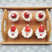 #安佳食力召集,力挺新一年#圣诞杯子蛋糕