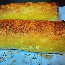 脆皮蛋糕卷#马苏里拉芝士肉松蛋糕卷