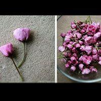 日式盐渍樱花的做法图解1