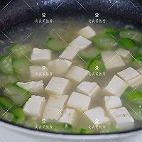 虾皮丝瓜豆腐汤的做法图解6