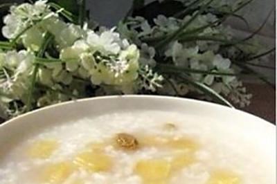 苹果白米粥