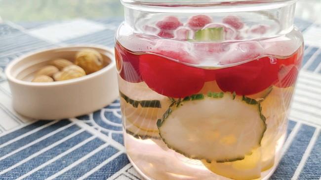 """蔓越莓果茶,瘦身美颜就喝它#""""莓""""好春光日志#的做法"""