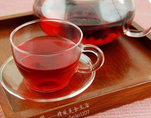 洛神花果茶