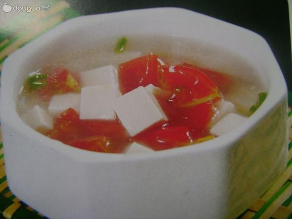 番茄豆腐羹的做法