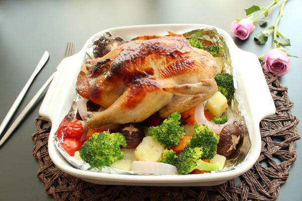 砂锅烤鸡的做法