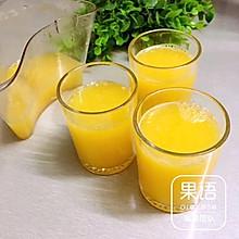 鲜榨果粒橙(果语版)
