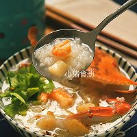 潮汕鲜甜蟹粥#膳魔师南甜主题月#的做法图解8