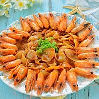 创意菜-虾头酱炒年糕