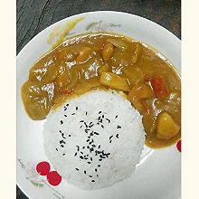【咖喱土豆鸡肉饭】