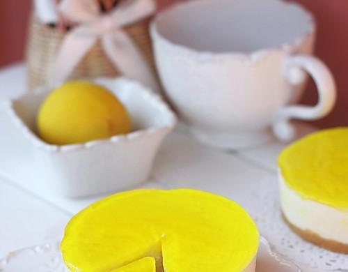 柠檬酸奶冻芝士