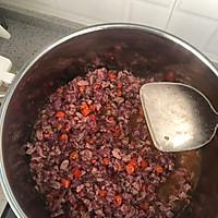 杏鲍菇豆豉牛肉酱的做法图解2