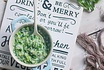 荠菜山药羹——宝宝汤羹系列的做法