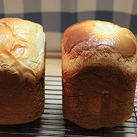 【100%中种北海道吐司(面包机版)】的做法图解11