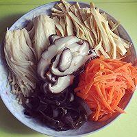 春季减肥食谱——龙利鱼柳虾仁什锦蔬菜卷的做法图解3