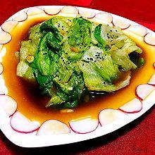 蚝油手撕西生菜