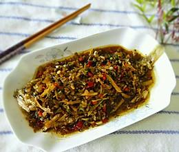 雪菜黄鱼#我要上首页酸辣家常菜#的做法