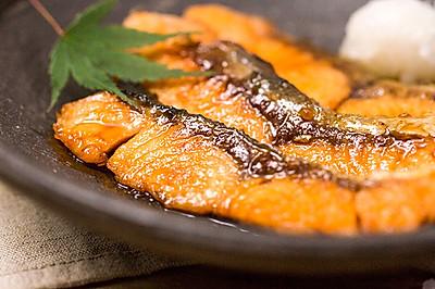 照烧三文鱼|美食台