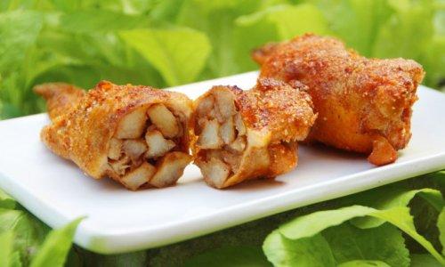 鸡翅包饭 小米鸡翅天蚕土豆味(申先生教你)的做法