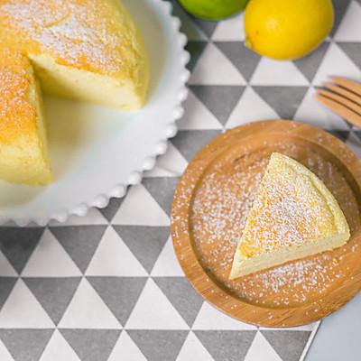 冰淇淋一样的柠檬酸奶蛋糕