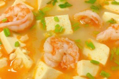 #美食新势力#鲜虾豆腐