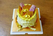 恭喜发财——钱袋子鲜果奶油蛋糕(超详细版)的做法
