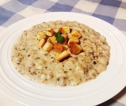 奶油蘑菇汤-浓稠版的做法
