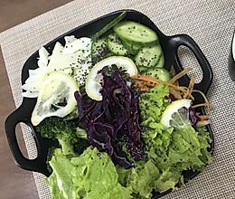 低脂蔬菜沙拉的做法