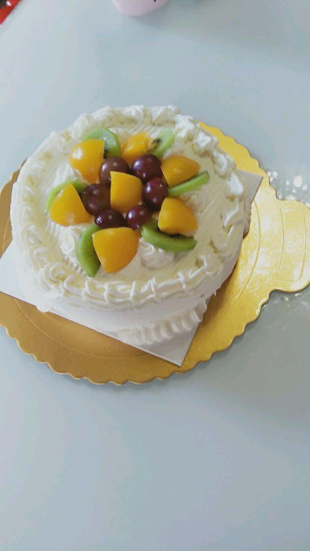 六寸水果蛋糕的做法