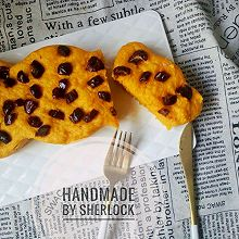 南瓜玉米面红枣发糕#每道菜都是一台时光机#