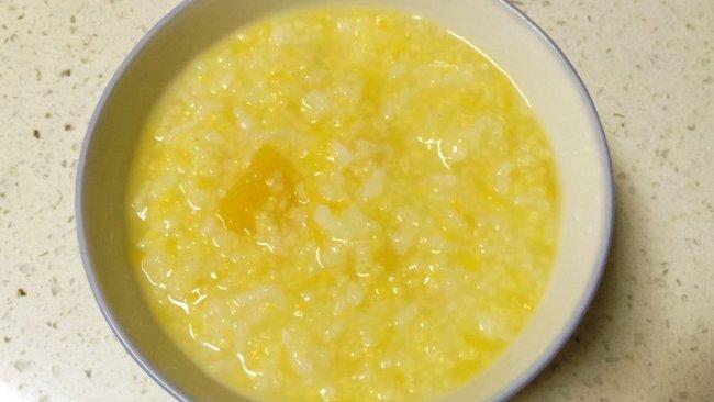 清热南瓜小米杂米粥的做法