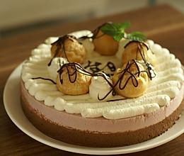 #新鲜新关系#树莓巧克力慕斯的做法