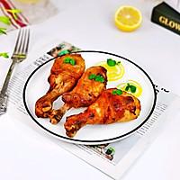 #全电厨王料理挑战赛热力开战!#柠香奥尔良烤鸡腿的做法图解14