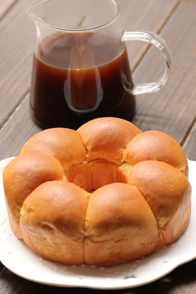 花朵面包的做法_【图解】花朵面包怎么做如何做好吃