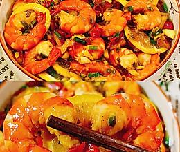 低脂低卡的酸辣柠檬虾的做法